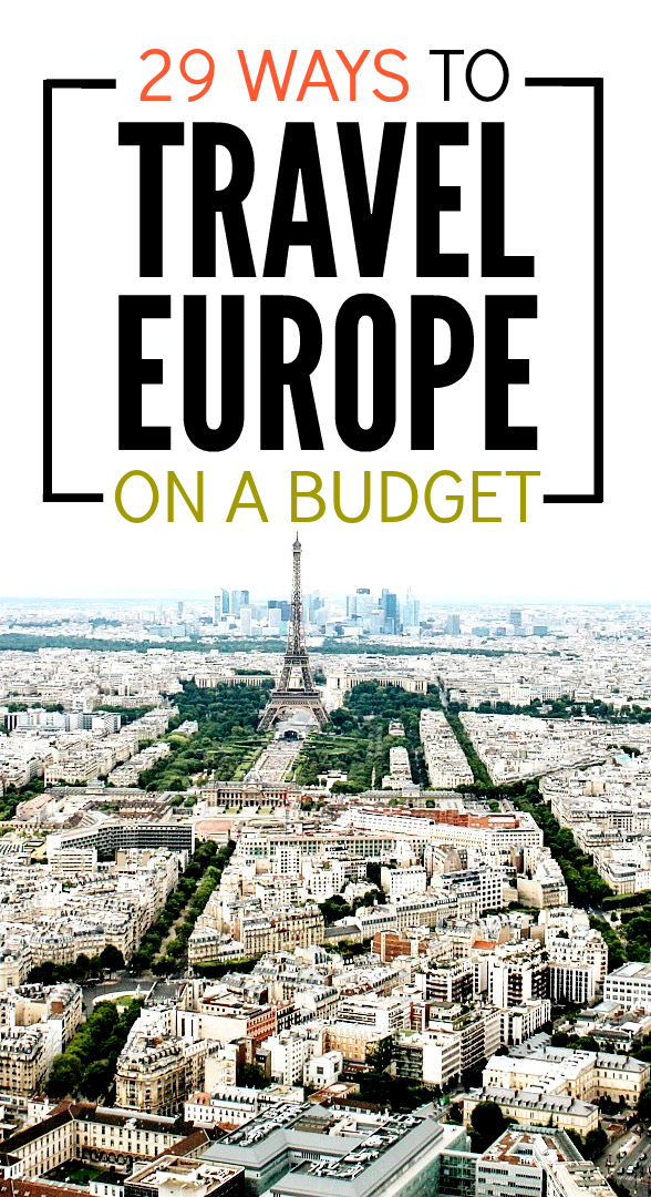Heading to Europe? Don't miss this post. Lots of really amazing budget travel tips for keeping your costs down during your trip.